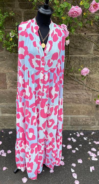 Paradise Sleeveless Maxi Dress