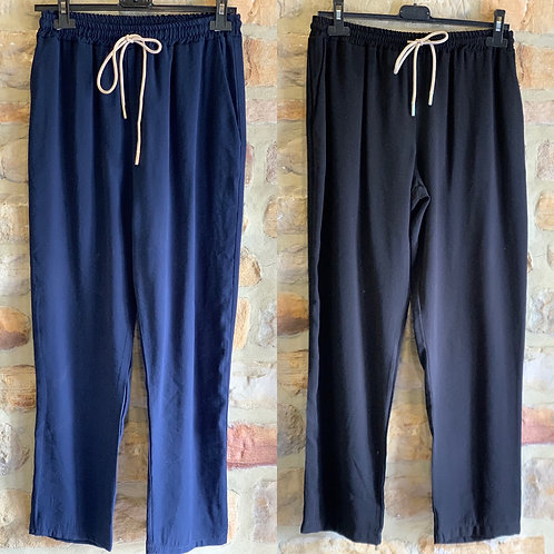 Luxury drawer string trousers
