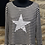 Thumbnail: Long Sleeved Stripe Top with Studded Star motif