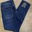 Thumbnail: Dark Denim Toxik Jeans Diamanté Bow Back