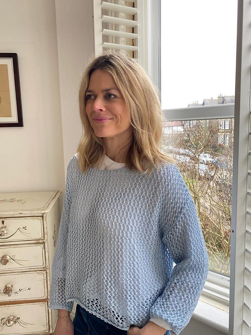 Loose Knit Italian Sweater Top