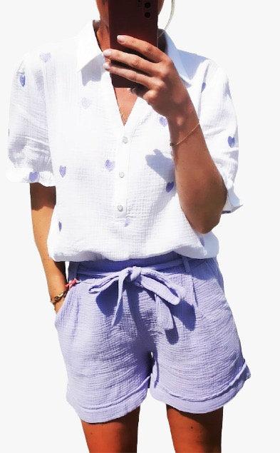 Italian Cotton Shorts