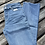 Thumbnail: Pale Denim Mom Fit Flared Jeans