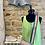 Thumbnail: Frayed Hem Denim High Waist Shorts