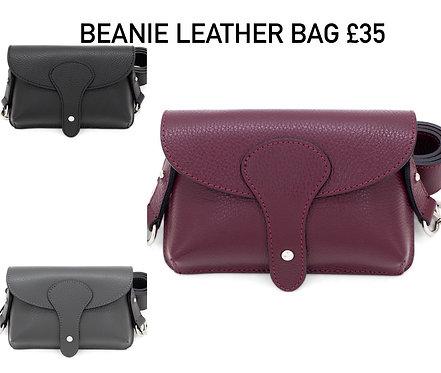 Beanie Leather Bag