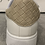 Thumbnail: White Trainers with Beige Pleated Detail