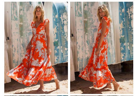 St Tropez Maxi Dress from the Aussie Collection