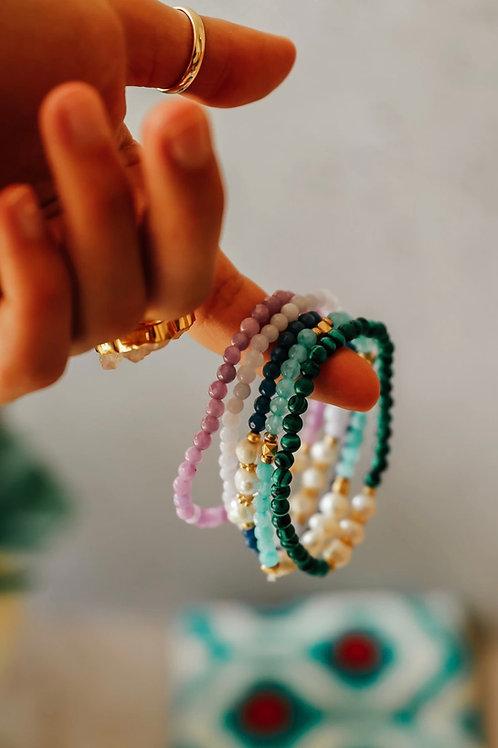 Bead & Pearl Bracelets