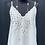 Thumbnail: Stitched & Cut Out Satin Vest Top