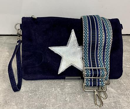 Sammy Star Suede Bag