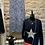 Thumbnail: VELVET STAR V NECK KNIT