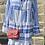 Thumbnail: Aztec Print Italian Cotton Tunic Dress