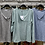 Thumbnail: Lurex Trim Pocket Marl Top with Button Front