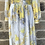 Thumbnail: Suzi Yellow or Blue Flower Maxi Dress