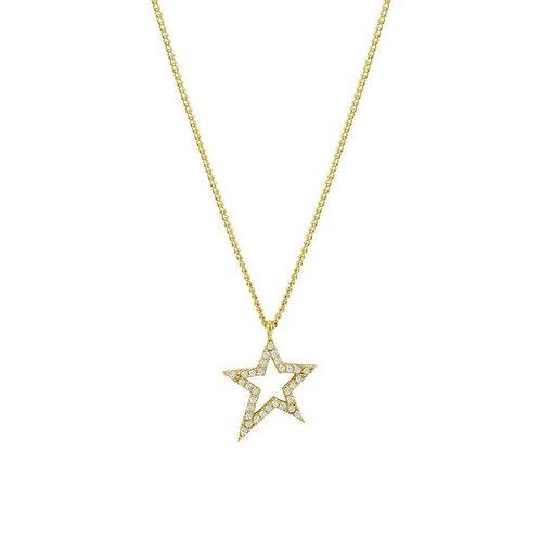 Rockstar pendant short necklace
