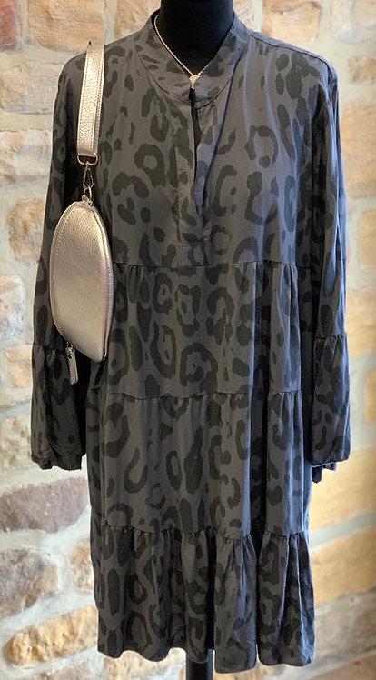 Tassy  Animal Print Tunic Dress