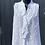 Thumbnail: Italian Cotton Frill Front Sleeveless Top