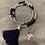 Thumbnail: Navy Tassel, Heart, Star Bracelet