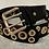 Thumbnail: Single & Double Gold Hoop Black Belt