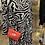 Thumbnail: Tanya Tiered Zebra Print Dress