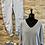 Thumbnail: Lila Sparkle Thread V Neck Lightweight Knit