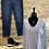 Thumbnail: Cotton Stripped V Neck Long Sleeved Top