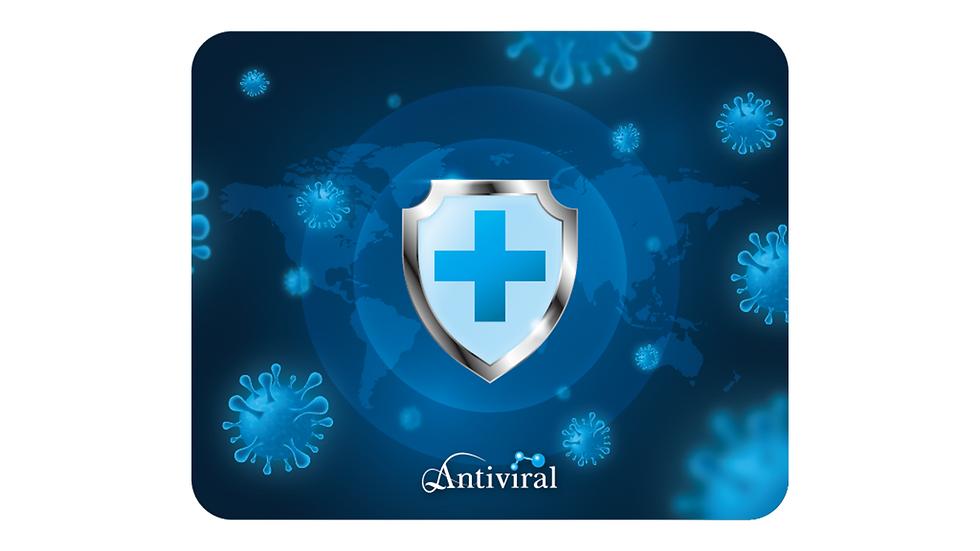 Antiviral mousepad