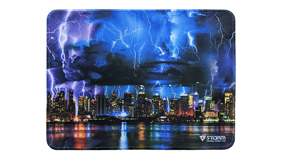 Storm gaming mouse pad