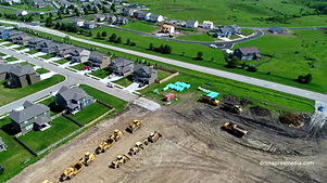 Aerial Construction Photo Drone Pros Media Kansas City