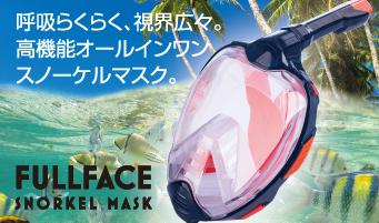 フルフェイス型スノーケルマスク