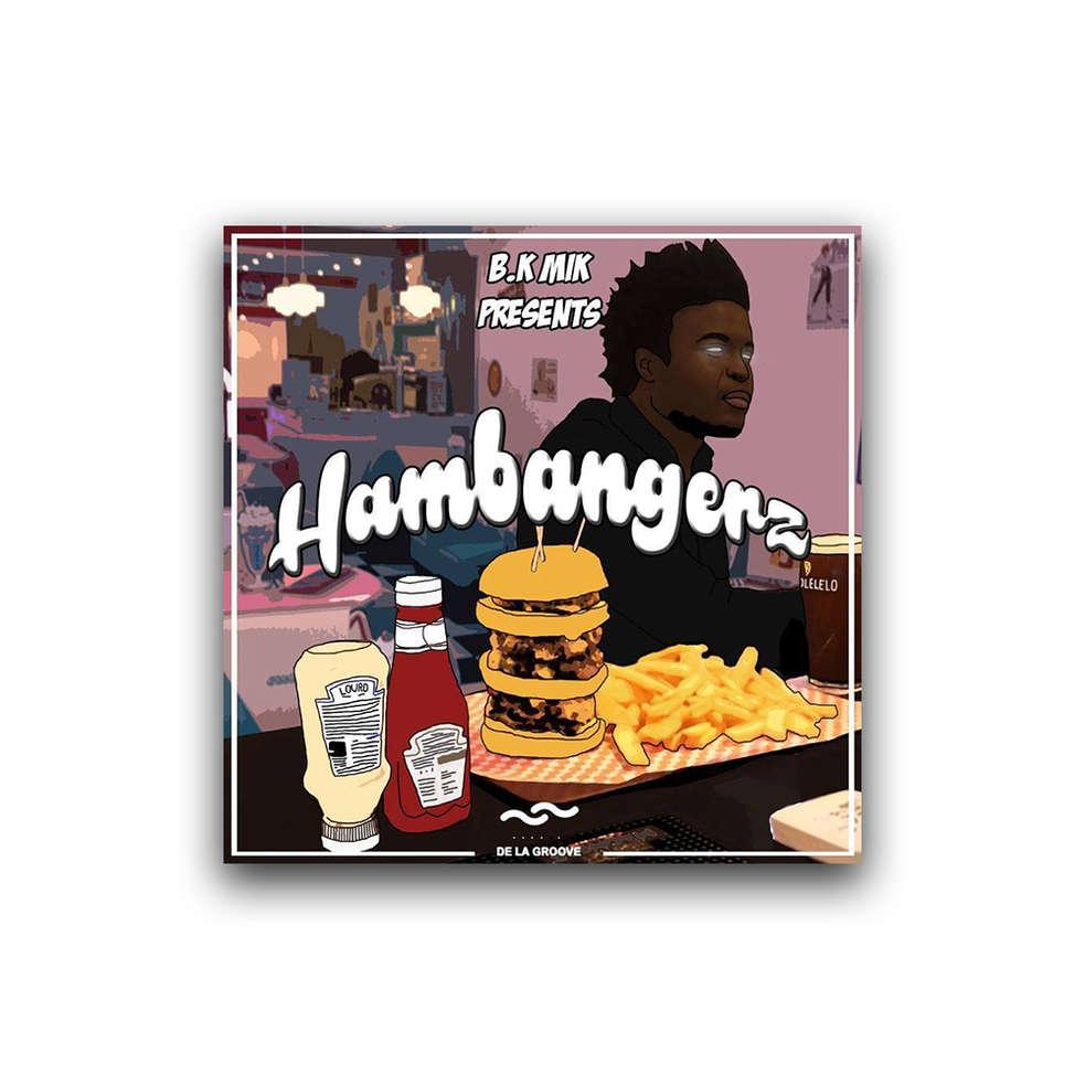 Hambangerz - 94th CASA - B.K Mik digital debut double EP 4 + 4 tracks  Released June 2017