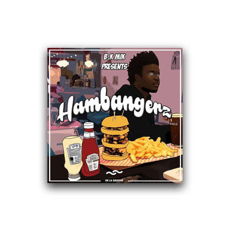 Hambangerz - 94th CASA - B.K Mik digital debut double EP 4 + 4 tracks  Released June 2017