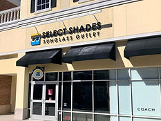 Select Shades Sunglasses Store in Charleston South Carolina Tanger Outlets