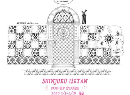 伊勢丹新宿店POP-UP ---2020SS Collection---