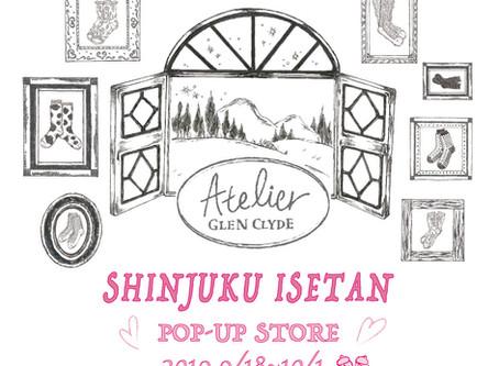 伊勢丹新宿店POP-UP ---2019AW Collection---