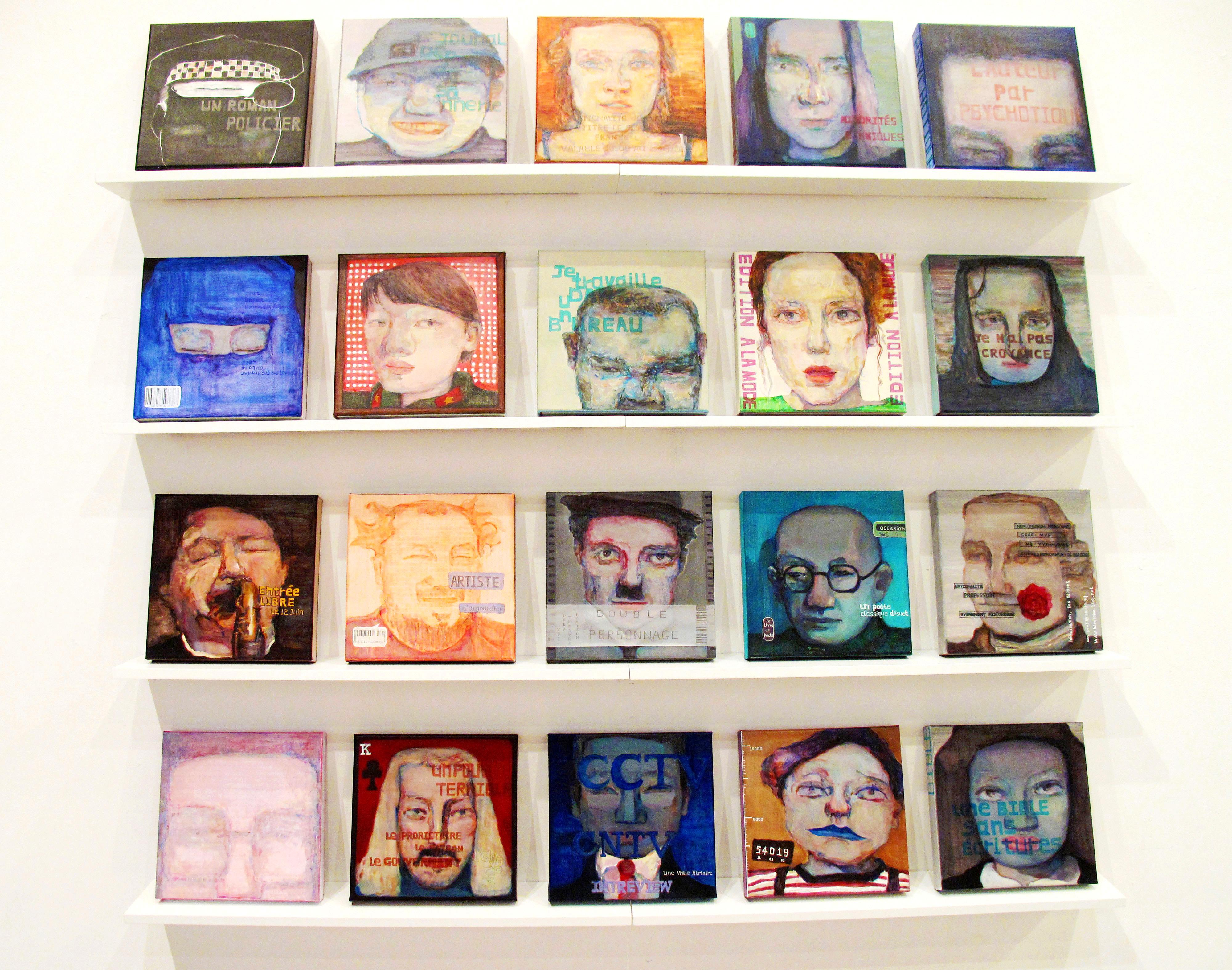 Les journaux des portraits (2012)