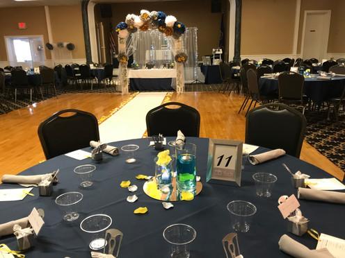 Brady Hall Set For a Wedding