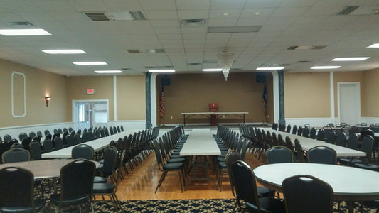 Brady Hall Set For a Conference