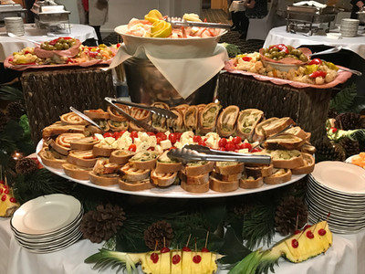 Food Set Up For Event