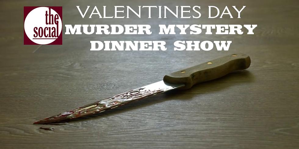 Valentines Murder Mystery Dinner Show