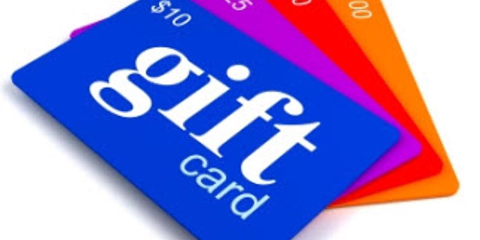 CORONAVIRUS GIFT CARD SALE!