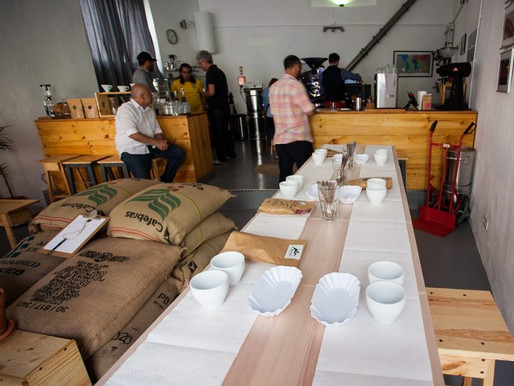 Lisboa Coffee Evolution – Cupping público – Café do Brasil