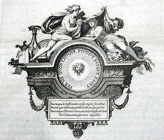 Baroque printer's mark.