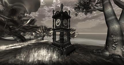 Arcadia's clock.