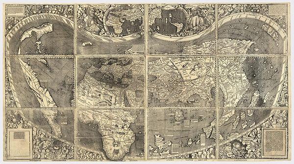 Martin Walseemüller map