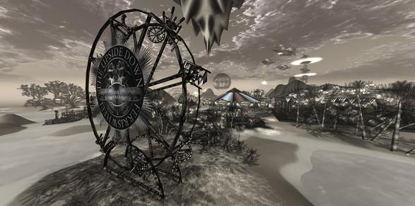The Upsidedown Ferris Wheel