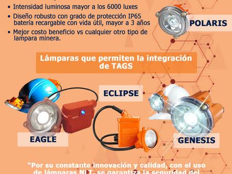 Lámpara mineras NLT