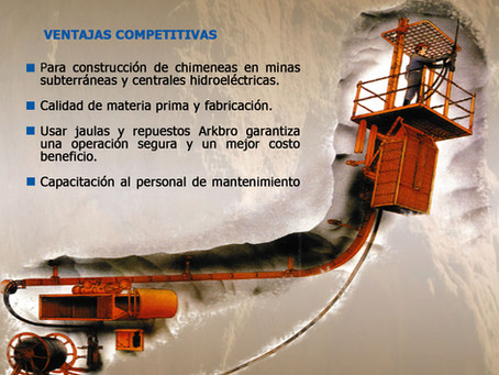 Jaulas Trepadoras Arkbro Industries