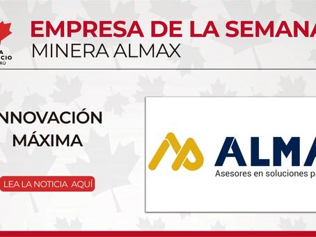 Empresa de la semana: MINERA ALMAX