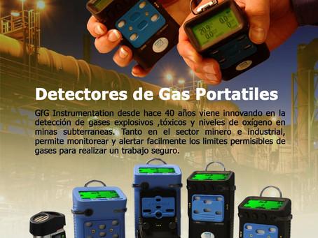 Detectores de Gas Portátiles